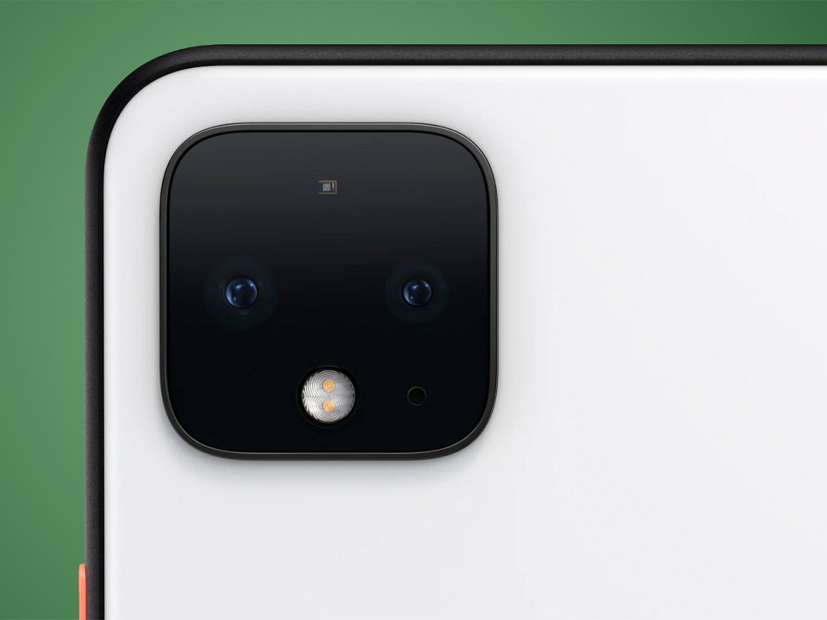 Cámaras del Google Pixel 4 XL