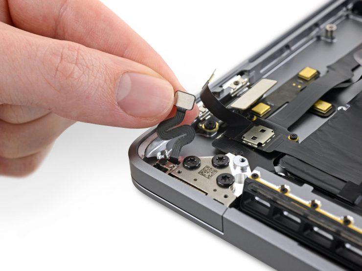 Interior de un MacBook Pro