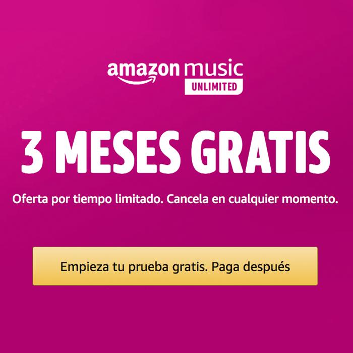Amazon Music Unlimited banner