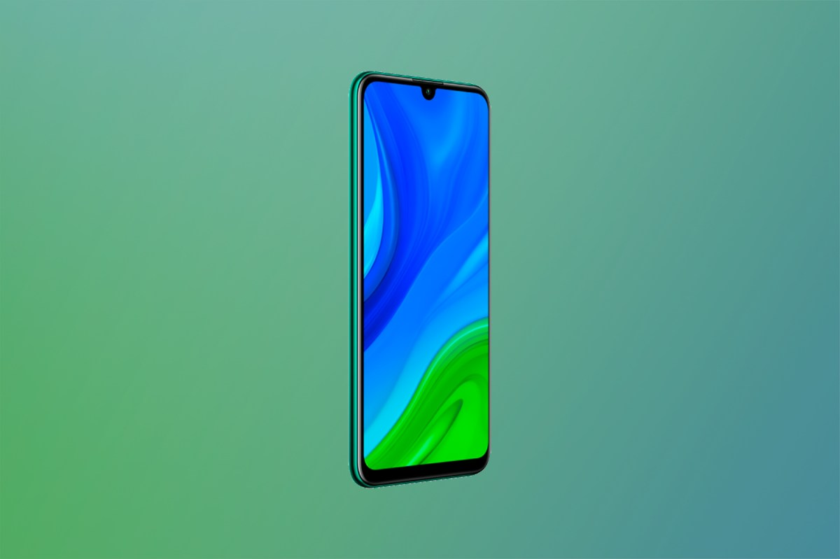Frontal del Huawei P Smart 2020