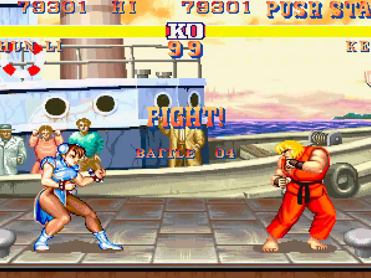 high score netflix street fighter 2 chun-li