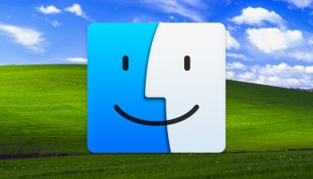 Fondo de Windows XP con Icono Finder