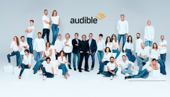 Foto de familia de Audible España