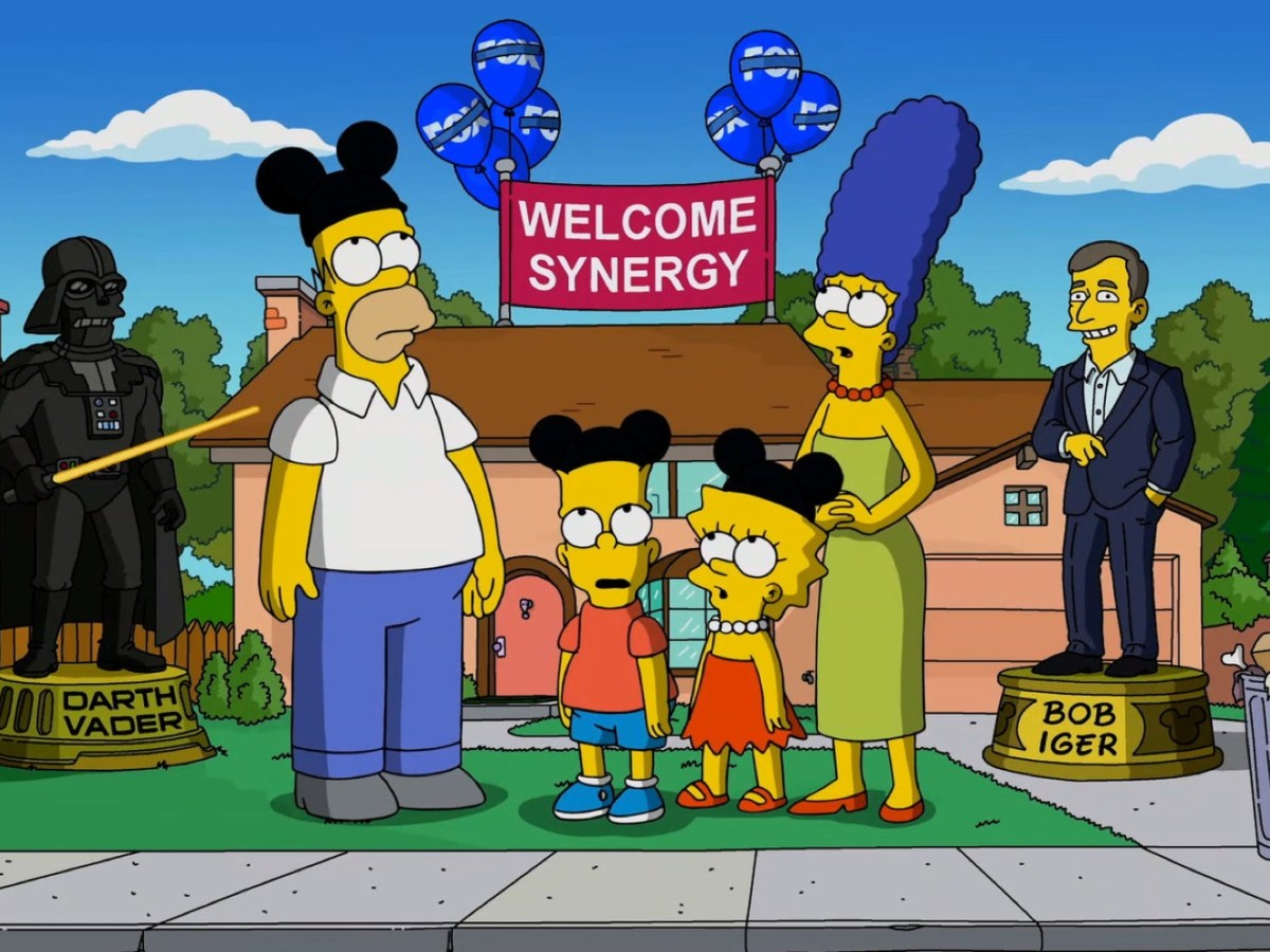 disney simpsons