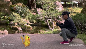Niantic demo 'Pokémon Go'