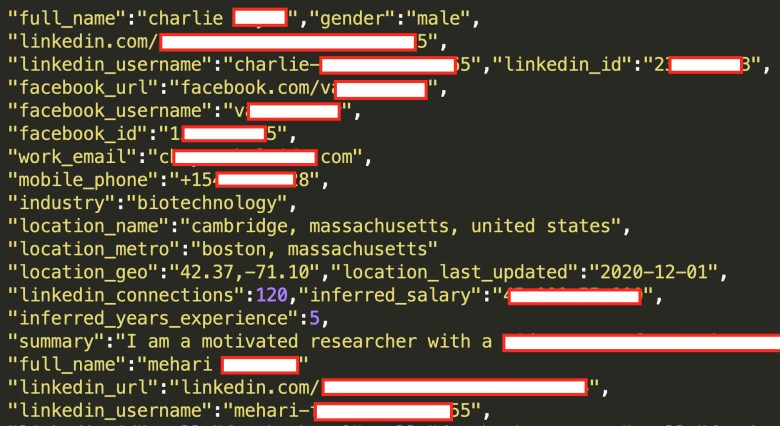 Hackers Post LinkedIn User Data On Hacking Forums