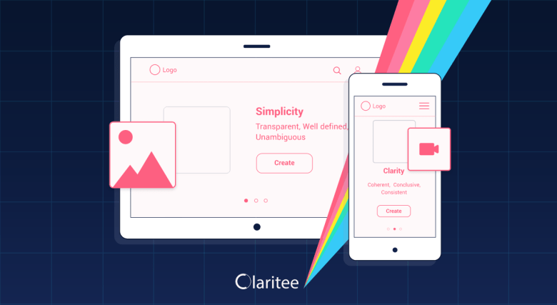 Claritee, a collaborative tool with wireframes and layouts that helps you build your website from the initial idea phase