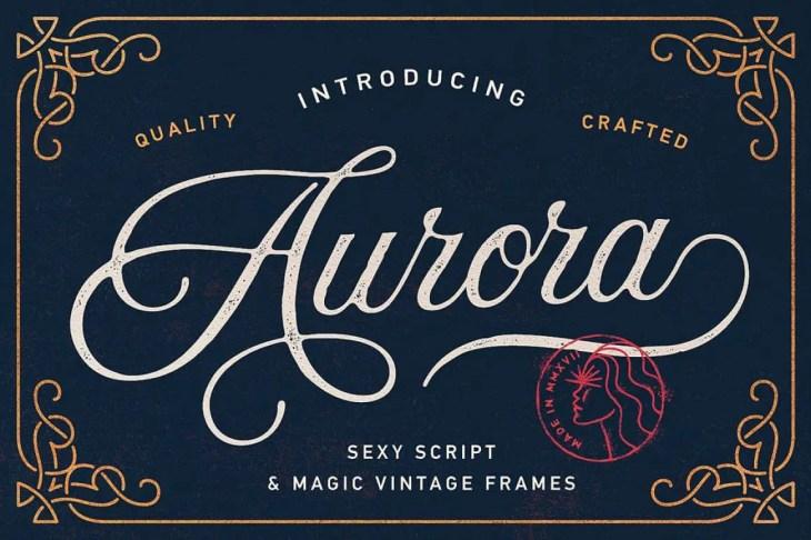 Aurora Script by Andrey Sharonov