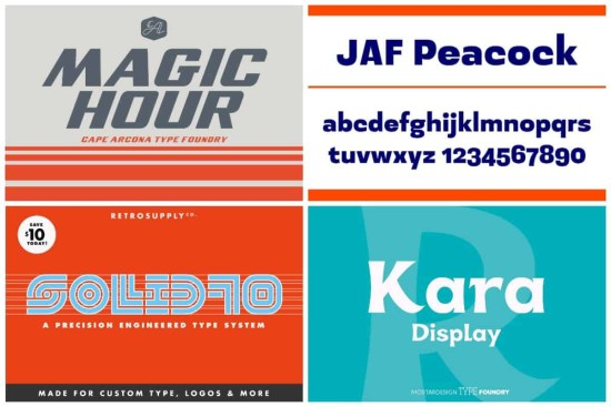 1970s Typefaces