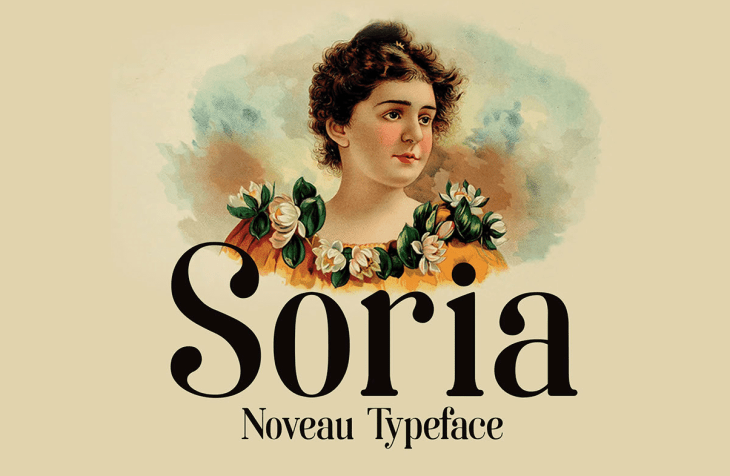 Soria Noveau typeface