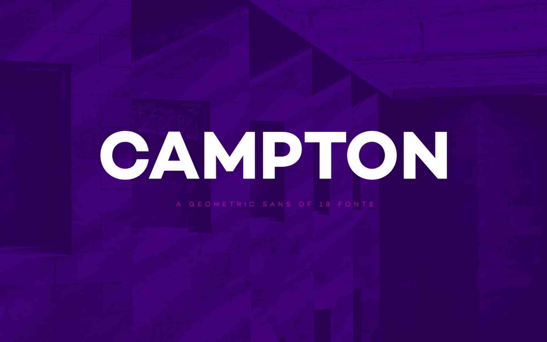 Campton Typefamily