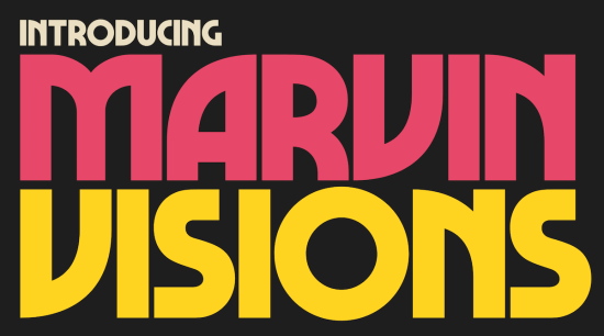 marvin visions typeface