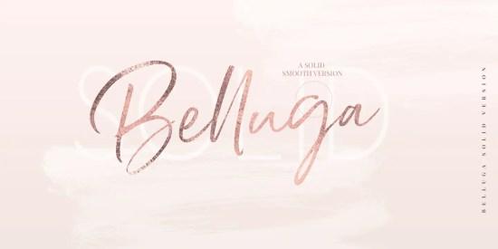 Belluga typeface