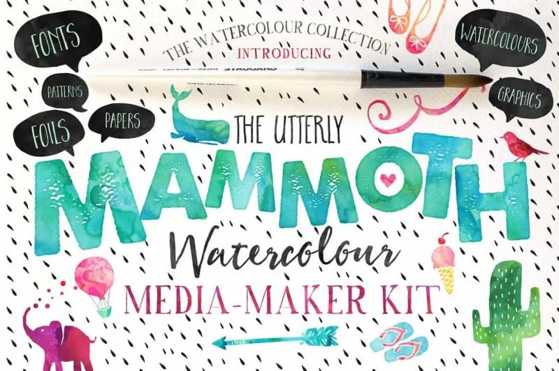The Mammoth Watercolour Kit