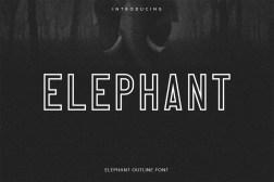 Free Elephant Font