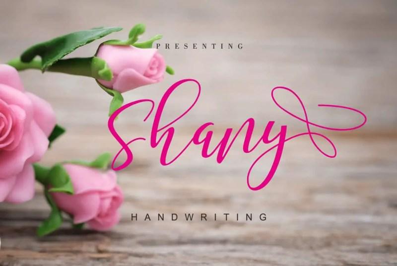 Shany Free Font