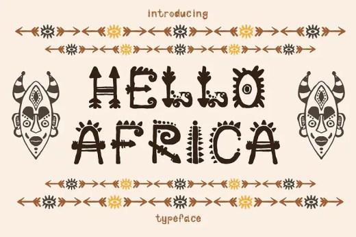 Tribal Fonts