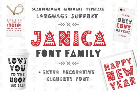 Scandinavian Fonts