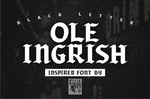 Beautiful Blackletter Fonts