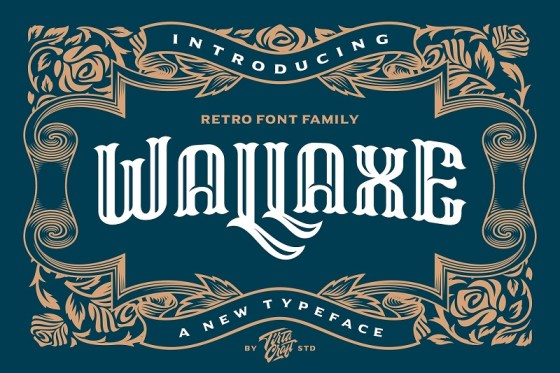 20 Beautiful Blackletter Fonts To Add Classic Elegance To Your Works