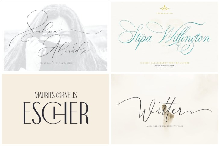 Wedding Fonts