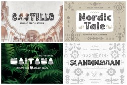 nordic style fonts