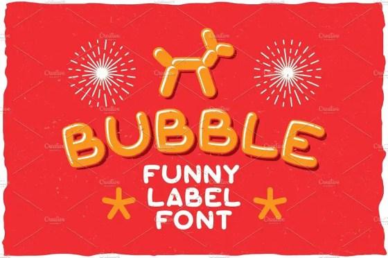 Bubble Fonts