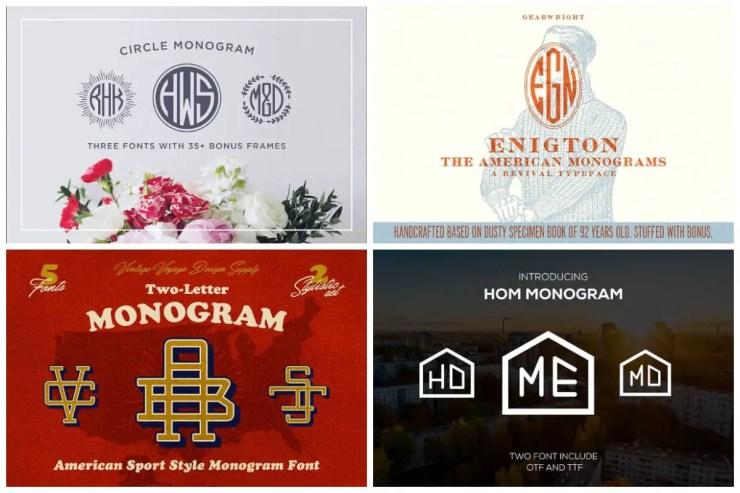 Monogram-Fonts
