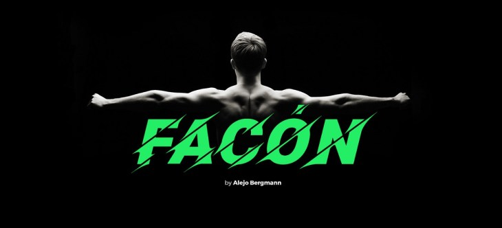 Facón Free Font