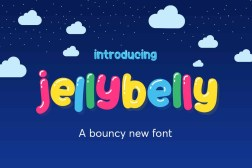 Free Jelly Belly Font