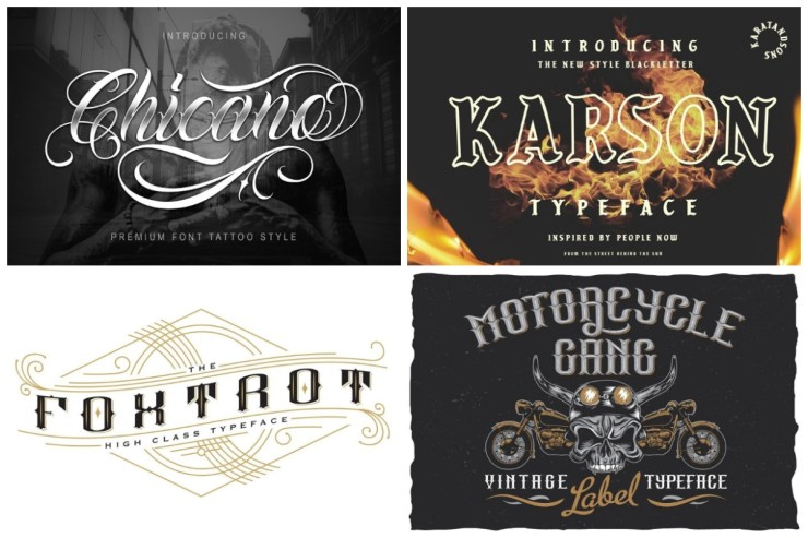 25 Tattoo Fonts To Ink Your Designs in Style | HipFonts