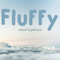 Fluffy - Cloud Typeface