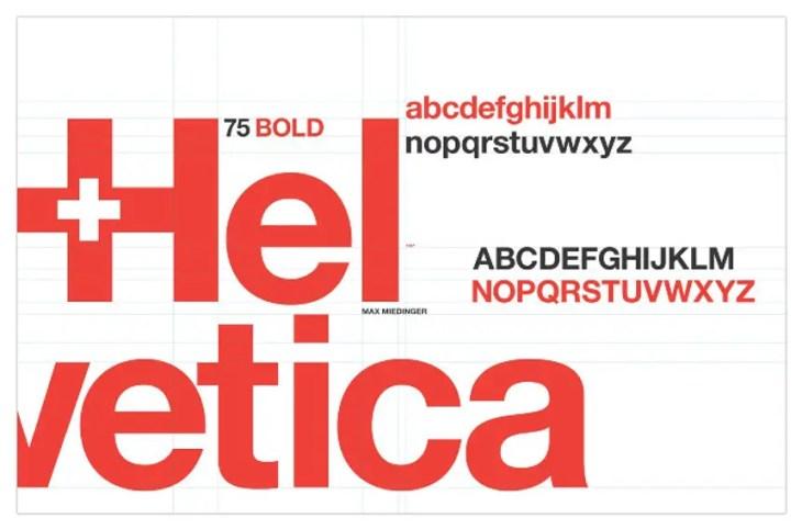 Helvetica Typeface