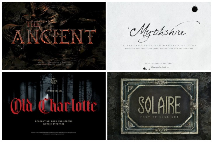 Medieval Fonts cover