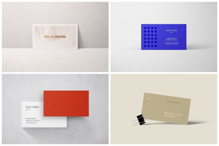 Business Card Mockup cover min