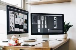 Graphic Designers Workspace