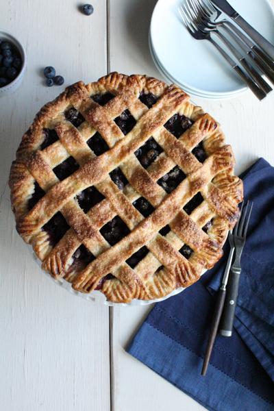 Blueberry Pie vertical | HipFoodieMom.com