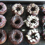 Triple Chocolate Baked Doughnuts