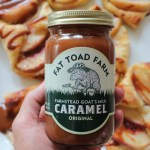 Peach Croissants and a Fat Toad Farm Caramel Giveaway!