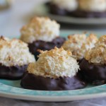 Best Ever Gluten Free Chocolate Coconut Macaroons with 5 Ingredients or Less