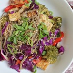 Quick and Easy Soba Noodle Salad Bowl