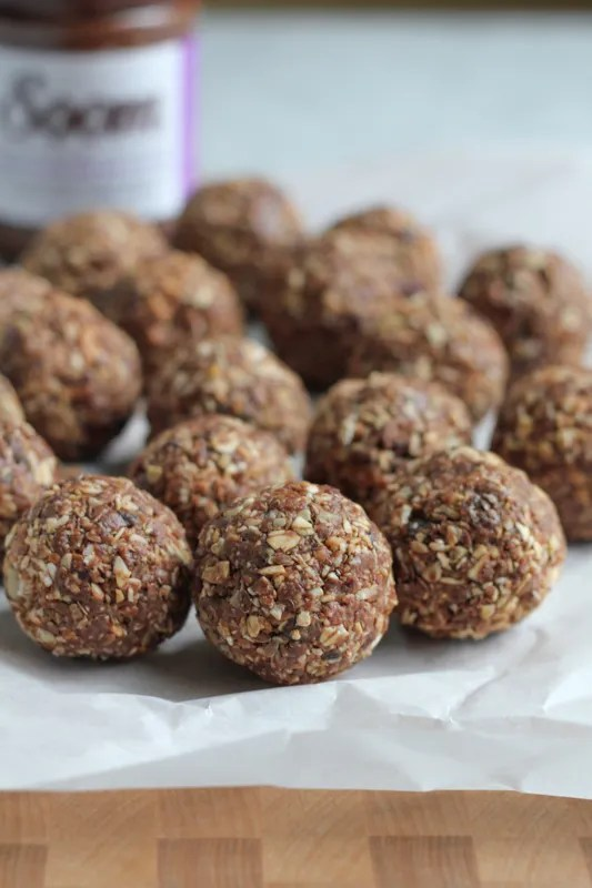 Chocolate Sesame Butter Energy Bites