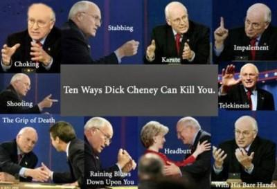 Cheney Kills