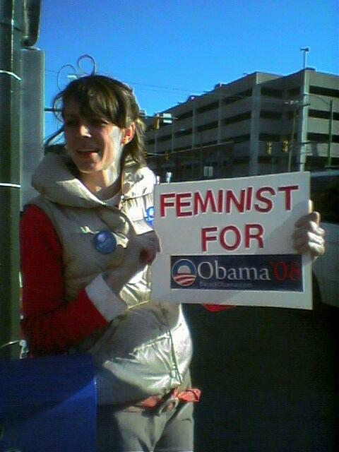 Feminist for Obama