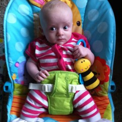 Baby Bouncy Chair Age Yoga Exercises For Elderly The Story So Far Part Two Hip Boo E In Pavlik Harness Aged About Three Months She Looks Stumpy