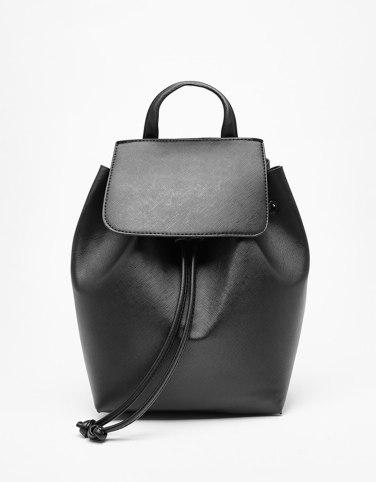 bershka sac à dos backpack noir