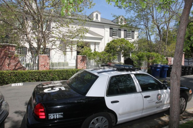Diddy Home WIth Cop Car
