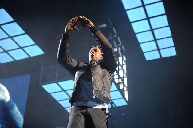 Jay-Z performs live at The O2 Arena in London