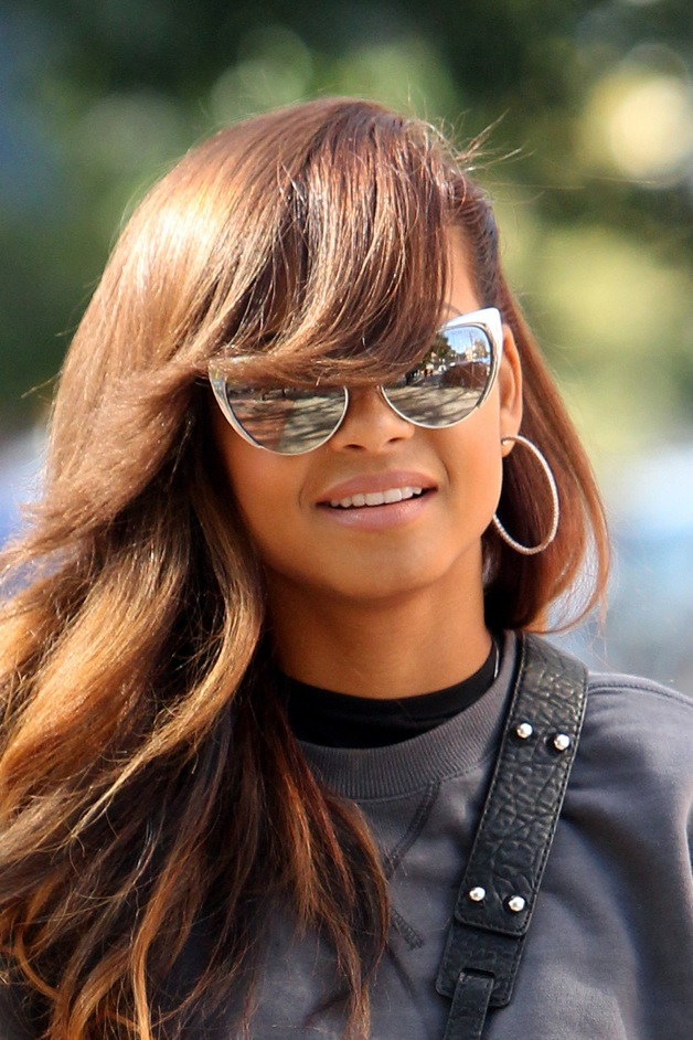 Christina Milian puts on a smile in New York City, just a day after being eliminated from 'Dancing With the Stars'