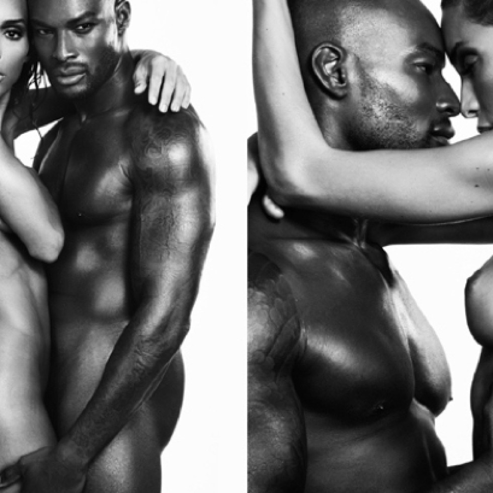 Simply transgender and tyson beckford model with